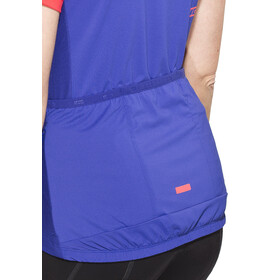 ION Venta SS Tee Half Zip Women sea blue
